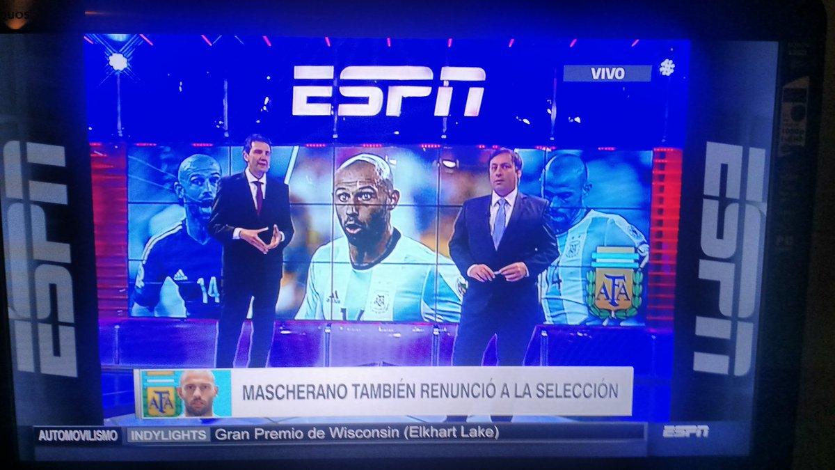 ESPN lo confirma. También retiramos a Mascherano https://t.co/c3IHrTG4Tm