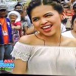 Tiara na lang kulang. Princess na princess ang peg with her braided hair and off shoulder top. ???? #ALDUBxDrewGa https://t.co/uvLixjKGdr