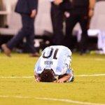 """Última hora   #Messi: """"La selección se terminó para mí"""" https://t.co/xXyVD80KKn"""