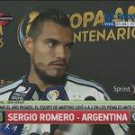 "#CopaAméricaEnTyC Romero: ""Yo creo que Leo lo dijo en caliente"" https://t.co/aAK6TX5LTu https://t.co/HSgm8lNWNj"