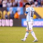 """Messi : """"La sélection, c'est fini pour moi, c'est la quatrième finale que je perds, la troisième de suite"""" https://t.co/KY2tXsNC5t"""
