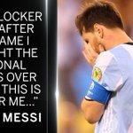 [Video] https://t.co/YRmk9d9f7z - RESMI! Messi Nyatakan Pensiun Dari Timnas Argentina https://t.co/I52MljP97q