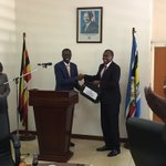 Handover of Minister of Information and ICT https://t.co/7y2rLXxI9a