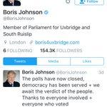 Not a word from this back stabbing, nest feathering, Jizz trumpet in three days ....??? @BorisJohnson speak up boy https://t.co/UM2zi2NJw1