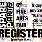 #SanAntonio Teachers & Artists: Register for our Fine Arts Fair July 29. Space is limited. https://t.co/JC6Rc9SL3h https://t.co/1RQH9RJCCc
