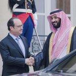 رئيس جمهورية #فرنسا فرانسوا #هولاند يستقبل سمو سيدي #ولي_ولي_العهد الأمير #محمد_بن_سلمان في قصر #الإليزيه في #باريس https://t.co/VJgoG6KwP3