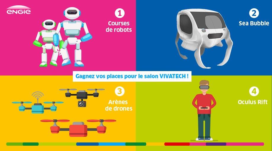 [JEU] Gagnez vos places pour @VivaTech Paris : RT + dites-nous quelle expérience du futur vous voudriez tester !