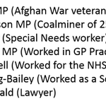 New appointments within Labours Shadow Cabinet include people with actual experience in the real world... https://t.co/jf1CyrQGE6