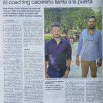 """Hoy salimos en el Periódico Extremadura. """"El Coaching cacereño llama a la puerta"""". ???? https://t.co/LKaUO097HU https://t.co/0jKV5QpbM7"""