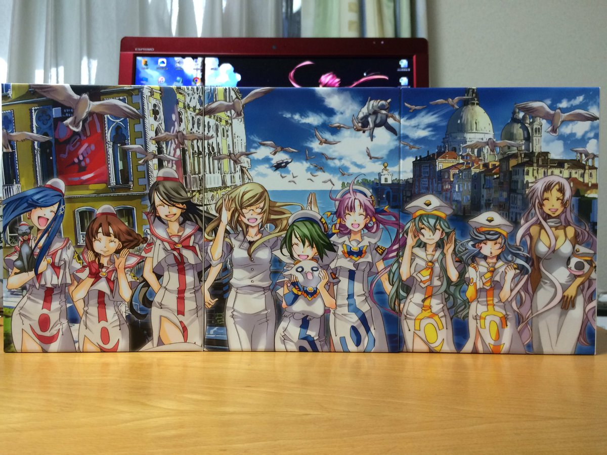 ありがとう ARIA Blu-ray BOX https://t.co/ltvT4BsSy6