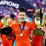Alexis Sanchez est élu meilleur joueur de la #CopaAmerica ! https://t.co/hWeDkdOx8C