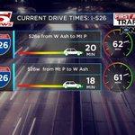 526 Drive times, under 25 min. #chstrfc https://t.co/fGkmItrvVY