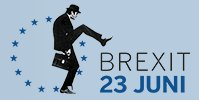 I love the logo the Belgian Newspaper de Standaard has chosen for its Brexit coverage :) A silly walk indeed! https://t.co/qNgHPxVwNt