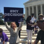 RT if you agree: Todays Supreme Court decision to #StopTheSham and protect abortion access is #MyDecision! https://t.co/0KyEpA3JAO
