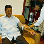Arvind Kejriwal after watching Modis interview with Arnab Goswamy on TIMES NOW #PMSpeaksToArnab https://t.co/1aPm7bI2Kd