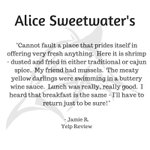 This review has OUR mouths watering! #Alice #SWFL #Seafood https://t.co/oTwCsGdpo4