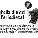 #FelizDiaDelPeriodista a todos lo que les apasiona el mundo de informar, entretener, enseñar y dialogar! https://t.co/K3UxM0X6Vm