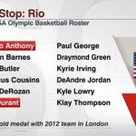 ICYMI: Team USAs Olympic roster for mens basketball is complete. https://t.co/hCahv9ZsdG https://t.co/qrv5nJQoK7