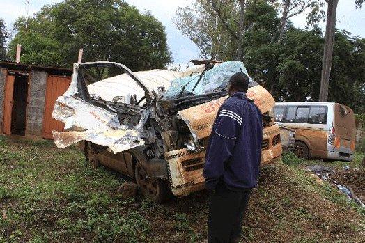 Four schoolgirls, driver die in road accident