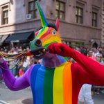 Photos: Over 1.6 Million Celebrate Gay Pride At NYC Parade ???? ❤️ https://t.co/fIwY5fscnd https://t.co/NVPyLJrQLu