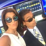 Traffic & Weather sporting our shades together for #NationalSunglassesDay. @Cimino4NY @LaurenScala4NY https://t.co/cIdrjaPUzj