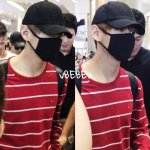 [PREV] 160627 BTS V @ ICN Airport | ©eheh vv @BTS_twt #방탄소년단 https://t.co/rHnWgh6UlD