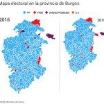 GRÁFICOS RESUMEN de cómo se ha votado en #Burgos https://t.co/vrdb3IR3C7 https://t.co/Lgm4cO9Ufn