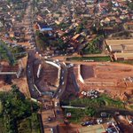 The Entebbe Expressway taking shape at Kajjansi junction. #aerialphotography https://t.co/y3MrMAQibJ