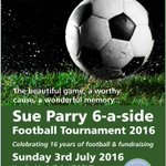 #HerefordHour Time to get your squad together for this Saturdays SUE PARRY FOOTBALL! Info: https://t.co/omixm6PpwM https://t.co/NwfX426Oo5