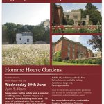 THIS WEDNESDAY! #HerefordHour Come to HOMME HOUSE Afternoon Tea & Open Garden! Info: https://t.co/7k1hTJmTPf https://t.co/xuoVpvPrhK