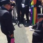 SEE IT: Two @FDNY EMTs get engaged during #NYCPride Parade https://t.co/BbG3OWe4wq https://t.co/4flDHy5gqF