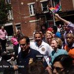 Hillary Clinton surprises by attending Pride Parade in New York https://t.co/FcMULnAiPw via @mattfleg https://t.co/maYAKtUqHy