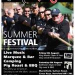 August 5-6: the HOSPICE ANGELS SUMMER FESTIVAL #HerefordHour Live music, food, fun! https://t.co/kJJ8ZV1iBc https://t.co/IvaM3POSV5