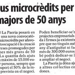 Els microcrèdits per promocionar locupació +50 anys és un dels punts de lAcord de Pressupost dERC #Paeria #Lleida https://t.co/Lfj87Ashie