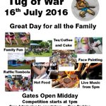 Dont forget the TUG OF WAR on Sat 16th July @Greyhoundladies from midday! Info here: https://t.co/eOtRaNnjLY https://t.co/UlVlxgDNC4