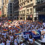 Yesterday, hundreds of #Citi employees joined the #NYC Pride March with @AntiViolence Project. #CitiPride #Pride2016 https://t.co/e2RpNsFDx5