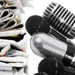 #27Jun Nuestro reconocimiento y felicitaciones a todos los periodistas por importante labor. #DiaDelPeriodista https://t.co/u5dca5B0QQ