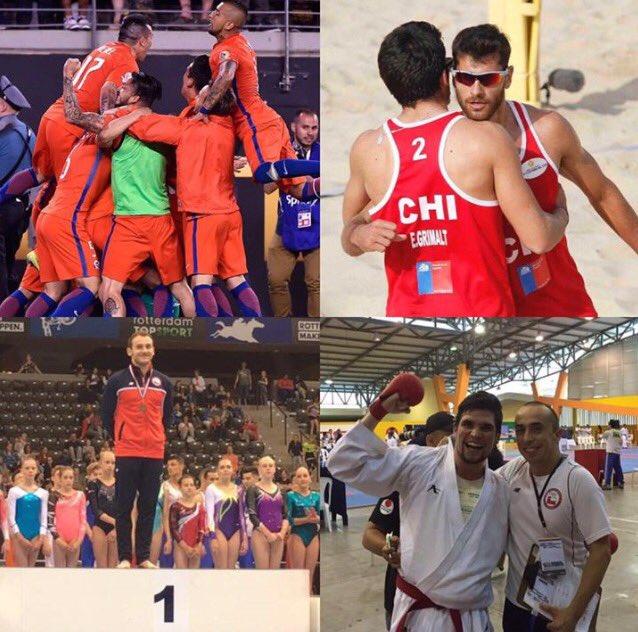 Amigos, compartan, ayer nuestro deporte hizo Historia. La Roja, Tomas González, Primos Grimalt y Francisco Cabrera https://t.co/lClhw6BFVJ