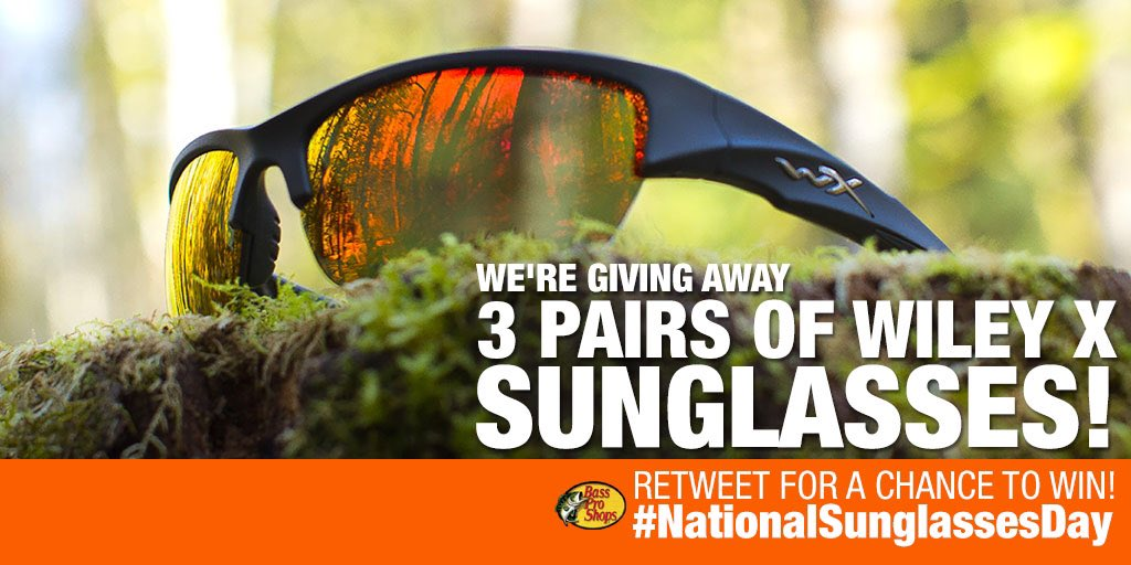 To celebrate #NationalSunglassesDay, we teamed up with @wileyx to giveaway 3 pairs of #sunglasses! RT to win!