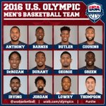 Meet the 2016 U.S. Olympic Men's Basketball Team Roster: https://t.co/SVpGiA5Dxl #UNITE #RoadToRio #USABMNT https://t.co/hcg1tqPUOX