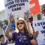 BREAKING: Supreme Court overturns Texas abortion law in 5-3 vote https://t.co/Sno5CaSxMN https://t.co/Y575Z2ACAr