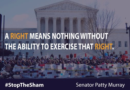 Today's Supreme Court ruling is a victory for women's repro freedom now & for generations to come #StopTheSham https://t.co/rj3E38jinG