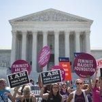 Supreme Court strikes down abortion restrictions in Texas. https://t.co/9D8W1BaGgL https://t.co/4S5HM0hIQg