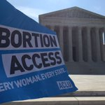 In most influential abortion case in decades, SCOTUS strikes down both provisions of Texas' HB2. #AbortionAccess https://t.co/zrVIHhzlys