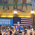 Clinton + Warren in Ohio today https://t.co/nNDeNg3J3i