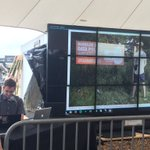 .@theyesmen: how safe do you think your data is in the hands of Roskilde? Not very. #rf16 #RFequality https://t.co/iAMsB0D73u