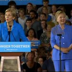 WATCH LIVE: @SenWarren campaigns with @HillaryClinton in Cincinnati, Ohio https://t.co/aqw1unCV0V https://t.co/2VdzFBmCHV