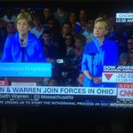 Warren stumps for Hillary in Ohio spouting about working people? Nothing Warren says matches Clintons record. Sad. https://t.co/Pl4swaUuyB