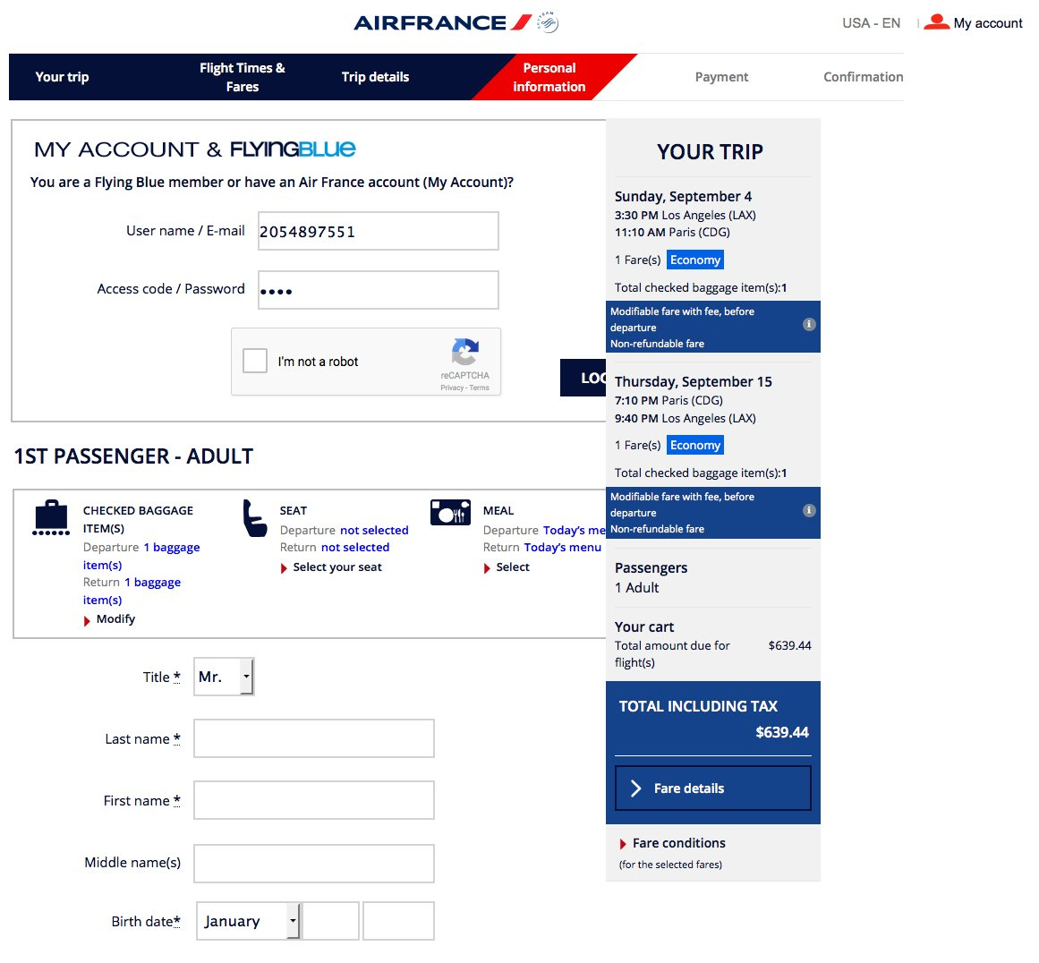 RT @airfarewatchdog: Los Angeles LAX to Paris CDG $640 nonstop on @AirFranceUS