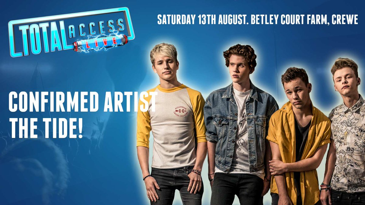 The world's next BIG boyband @TheTide will be joining us at #TotalAccessLive!  TICKETS: https://t.co/qv85vUqNVy https://t.co/hsZtpnxuLB